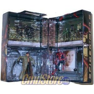 SPIDERMAN - DOCTOR OCTOPUS Deluxe Movie Boxed 6 inch フィギュア Playset