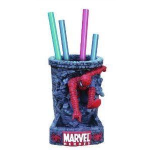 Spiderman (スパイダーマン) Classic Pencil Holder フィギュア おもちゃ 人形