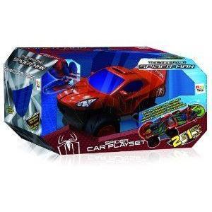 Spiderman Foldout Car プレイセット ミニカー ミニチュア 模型 プレイセット自動車 ダイキャスト