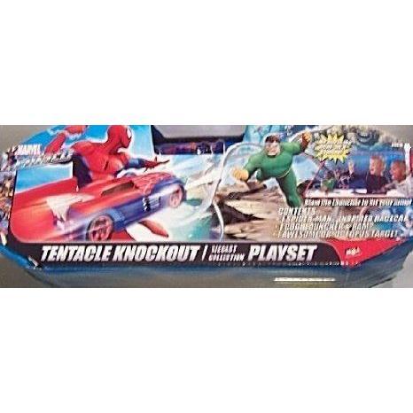 Spider-man Tentacle Knockout ダイキャスト コレクション プレイセット ミニカー ミニチュア 模型 プレ