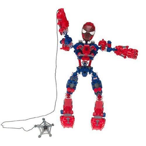 Spider-Man: Marvel マーブル Spider-Man スパイダーマン Tech Bot フィギュア ダイキャスト 人形