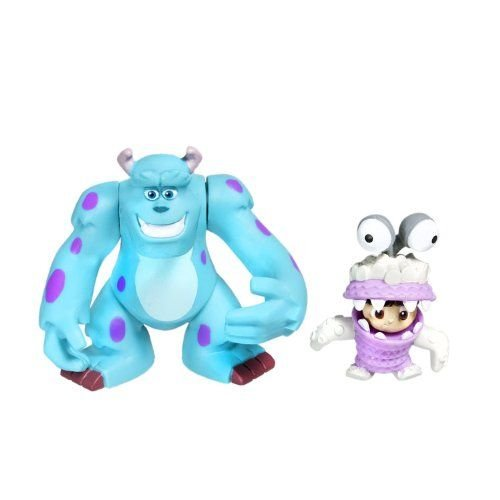 Spinmaster Monsters Inc. Sulley and Boo 2 Figure, 2 Pack フィギュア ダイキャスト 人形