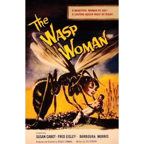 Spooky Scenes Movie Poster Wall Sticker The Wasp Woman 11 X 17 フィギュア ダイキャスト 人形