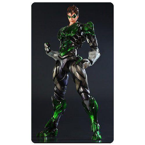 Square Enix DC Comics DCコミックス Variant 緑 Lantern グリーンランタン アクションフィギュア 人