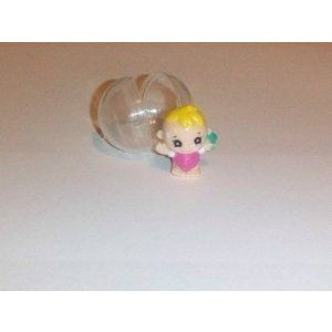 Squinkies (ぷにっキーズ) Series 1 Collectible Pencil Toppers Flower Club- Standing Blonde Baby Gir