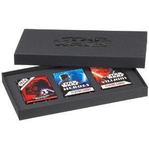 Star Wars (スターウォーズ) 3 Decks Playing Cards Set フィギュア おもちゃ 人形