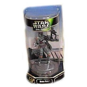 Star Wars (スターウォーズ) Epic Force 6 Boba Fett Figurine on 360° Rotating Base