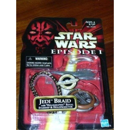 Star Wars (スターウォーズ) Episode 1 Jedi (ジェダイ) Braid with Holographic Royal Starship & Holop