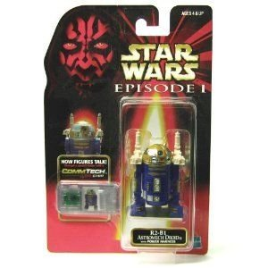 Star Wars (スターウォーズ) Episode I Commtech Chip R2-b1 Astromech Droid with Power Harness Collec