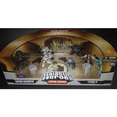 Star Wars (スターウォーズ) Galactic Heroes Cantina Encounter Movie Playset