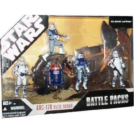 Star Wars (スターウォーズ) TAC Exclusive ARC-170 Elite Squad Battle Pack