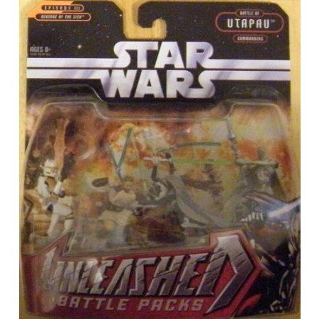 STAR WARS UNLEASHED BATTLE PACKS UTAPAU COMMANDERS
