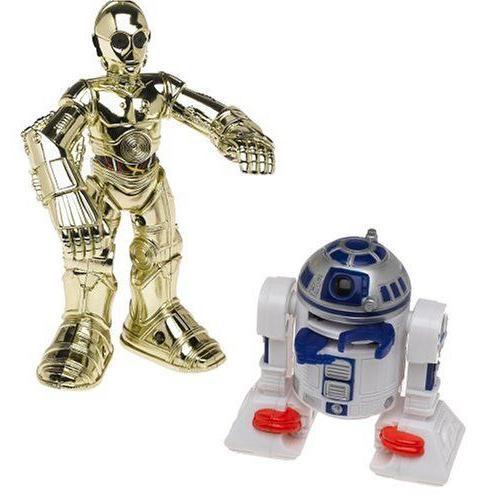 Star Wars スターウォーズ Jedi Force C3PO & R2D2 Light-up Figures Playskool フィギュア ダイキャスト