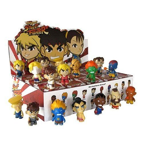 Street Fighter Collectible Mini Figure Series 1 Blind Box Lot Of 20 フィギュア 人形 おもちゃ
