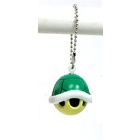 Super Mario (スーパーマリオ) Galaxy Funyu Mini Mascot Key Ring - Koopa Shell