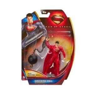 Superman (スーパーマン) Man Of Steel - 4 アクションフィギュア 人形 - Wrecking Ball フィギュア おも