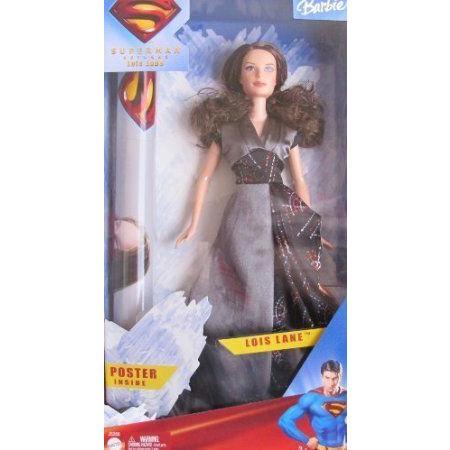 SUPERMAN Barbie(バービー) LOIS LANE DOLL (Kate Bosworth) w Poster Inside (2005) ドール 人形 フィギ