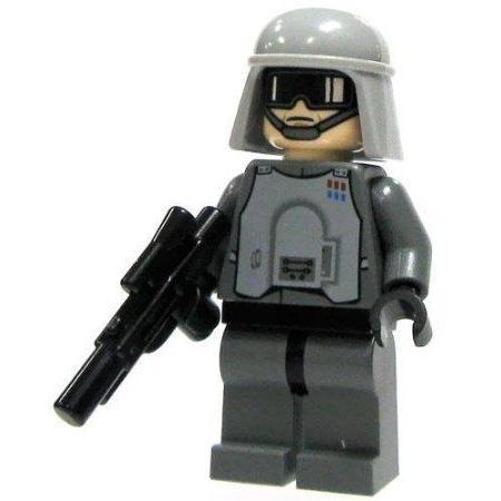 SW16-A3 LEGO (レゴ) Star Wars (スターウォーズ) LOOSE Mini フィギュア 人形 AT-AT Officer with Blast