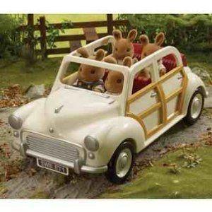 Sylvanian Families Cream Saloon Car フィギュア おもちゃ 人形