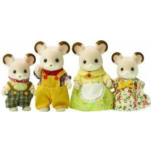 Sylvanian Families Field Mouse Family ドール 人形 フィギュア