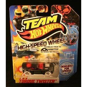 Team Hot Wheels (ホットウィール) Torque Twister Designed for Speed ミニカー ミニチュア 模型 プレイ