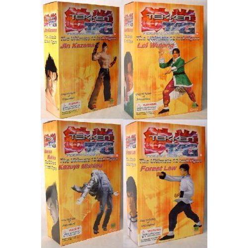 Tekken Tag Tournament 12 Figure Set Of 4 フィギュア ダイキャスト 人形