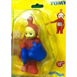 Teletubbies Po, Teletubby Fun Bath Time Collectibles Po Funny Water Squirter フィギュア おもちゃ
