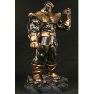 Thanos Faux Bronze Bowen Designs Exclusive Statue フィギュア おもちゃ 人形
