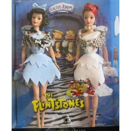 The Flintstones Barbie(バービー) Doll Giftset (Betty & Wilma) - 銀 Label Barbie(バービー) Coll