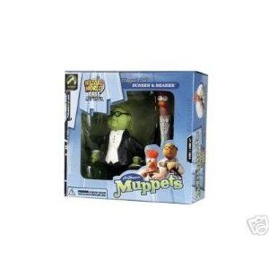 The Muppets Show Wizard World East Coast Convention Exclusive Steppin Out Bunsen & Beaker アクショ