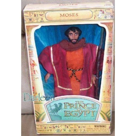 The Prince of Egypt doll MOSES by Hasbro ドール 人形 フィギュア