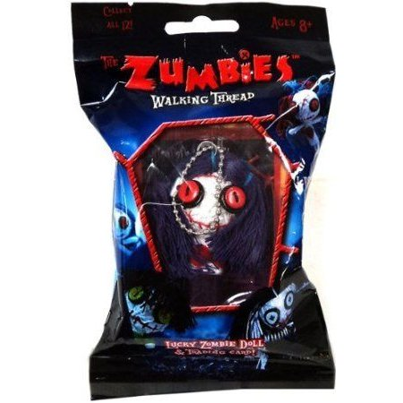 The Zumbies: Walking Thread Lucky Zombie Doll & Trading Card Keychain - Sally ドール 人形 フィギュ
