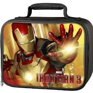 Thermos Marvel (マーブル) Iron Man (アイアンマン) 3 Series Single Compartment Soft Insulated Lunch