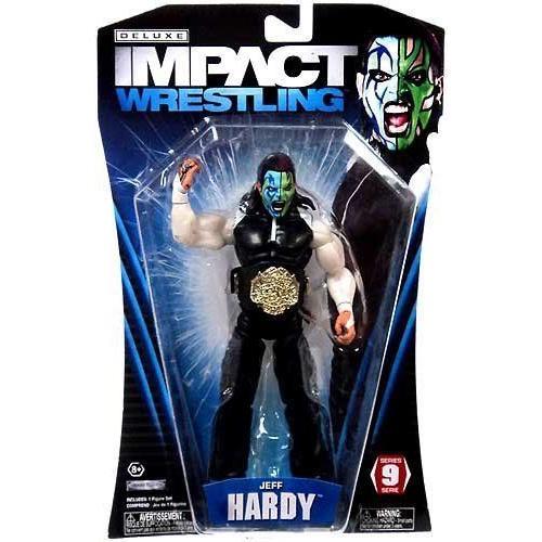 TNA Wrestling Deluxe Impact Series 9 Action Figure Jeff Hardy フィギュア ダイキャスト 人形