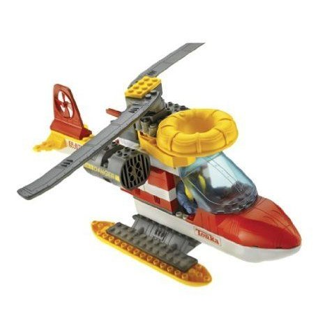 Tonka Search & Rescue building set: EMERGENCY RESCUE COPTER ブロック おもちゃ