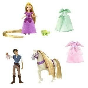 Toy / Game Disney (ディズニー)Tangled Rapunzel Deluxe Story Bag - Girls Can Play Out Their Favorit