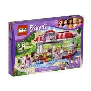 Toy / Game Gorgeous Lego (レゴ) Friends City Park Cafe 3061 With Stocked Kitchen, Chic Decor, And