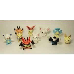 Toy / Game Light Pokemon (ポケモン) フィギュア Lot Of 10 Random 1-3 Inch Characters - Makes A Grea