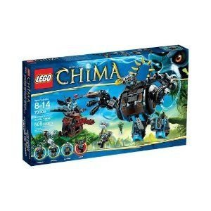 Toy / Play LEGO (レゴ) Chima 70008 Gorzans Gorilla Striker, Features big swinging arms, articulate
