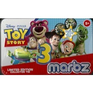 Toy Story 3 (トイストーリー3) Marbz Lmited Edition Collector Tin