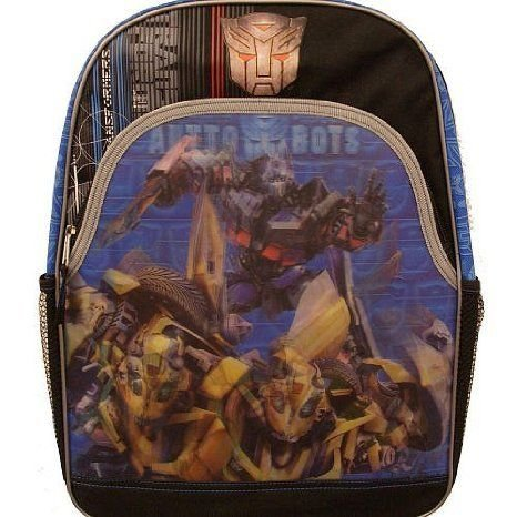 Transformers (トランスフォーマー) Animated Backpack - Attack of the Autobots With 3-D FX フィギュ