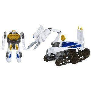 Transformers (トランスフォーマー) Dark of the Moon Cyberverse Autobot Ratchet Lunar Crawler フィギ