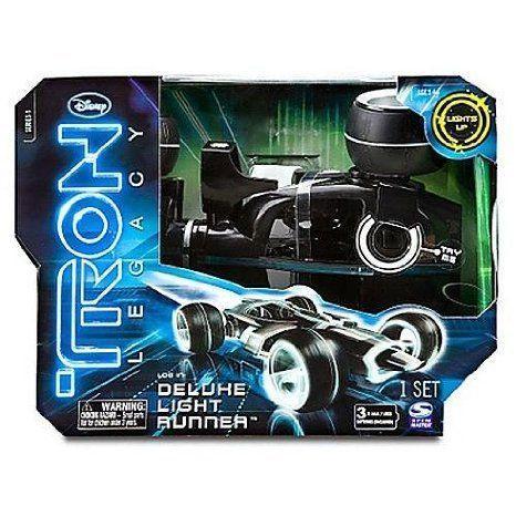 Tron Deluxe Runner ミニカー ミニチュア 模型 プレイセット自動車 ダイキャスト