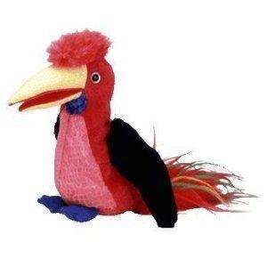 TY Beanie Baby (ビーニーベイビーズ) - FRILLS the Hornbill Bird by Ty TOY ドール 人形 フィギュア