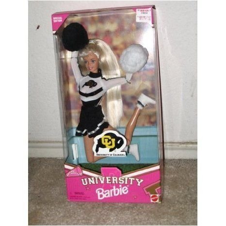 University of Colorado University Barbie(バービー) ドール 人形 フィギュア