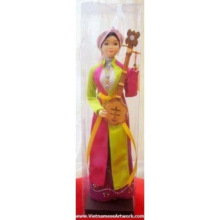 Vietnamese Doll - Doll With Ao Tu Than- DF8 ドール 人形 フィギュア