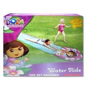 Water Slide - Dora The Explorer - 14' (14 feet long) フィギュア おもちゃ 人形