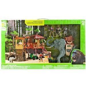 Wildlife Tree House Animal Planet(アニマルプラネット) Playset Jungle Adventure プレイセット Elepha