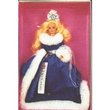 Winter Fantasy Barbie(バービー) 1990 Fao Schwarz ドール 人形 フィギュア
