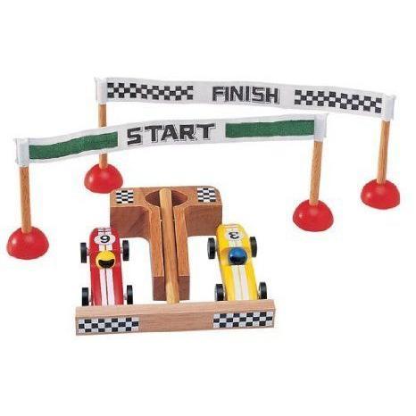 Wooden Racing カーセット ミニカー ミニチュア 模型 プレイセット自動車 ダイキャスト